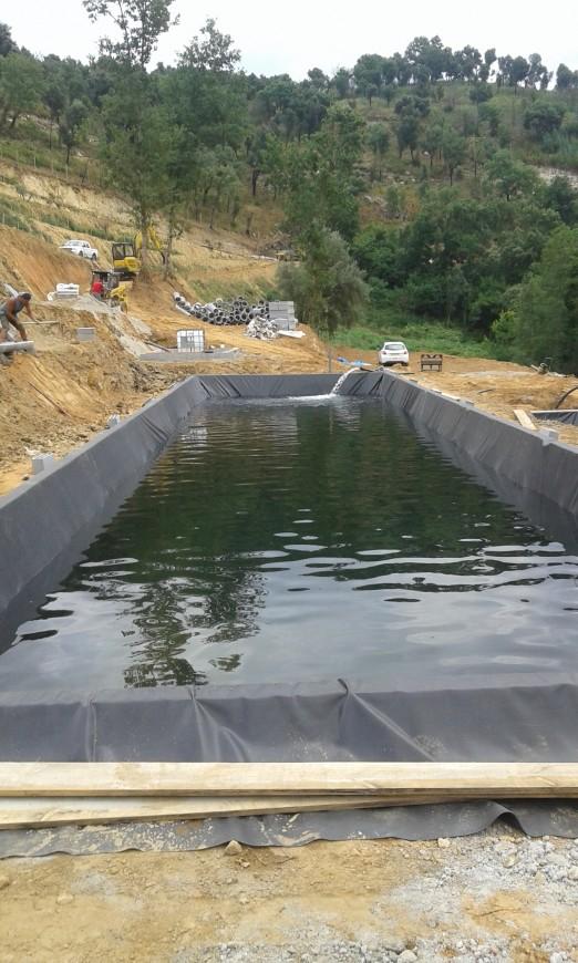 Impermeabilização de Lagoa