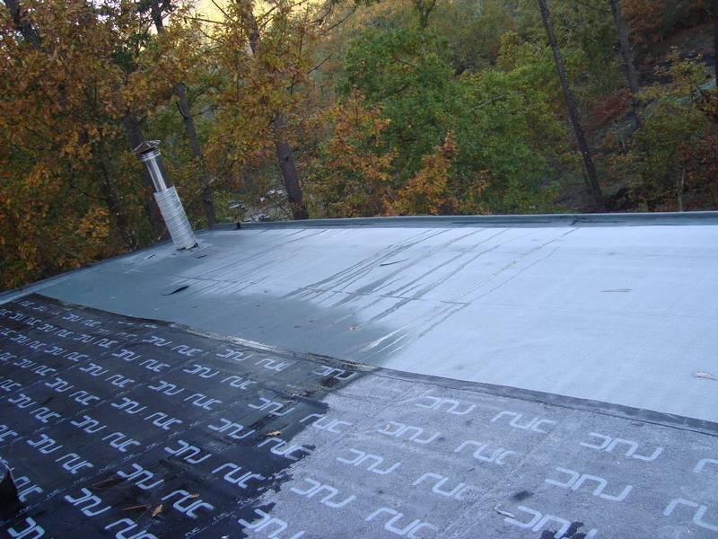 Impermeabilização de Cobertura - Habitação pré-fabricada (Cabeceiras de Basto)
