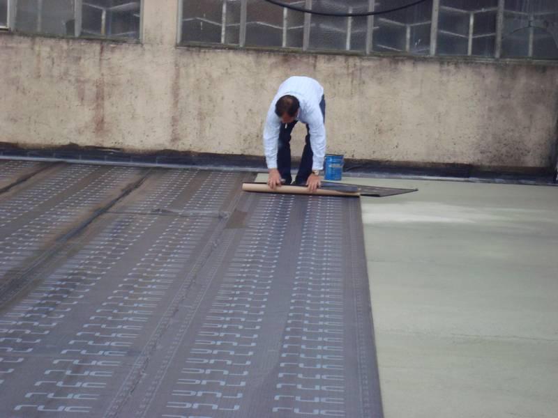 Impermeabilização Cobertura  Pavilhão Industrial (Trofa)