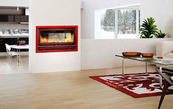 Recuperador a lenha/ar quente com aquecimento central